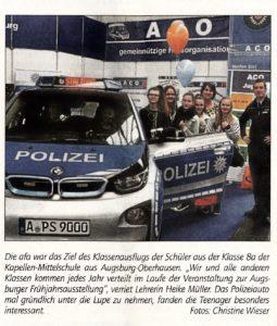 Zeitungsbericht AFA